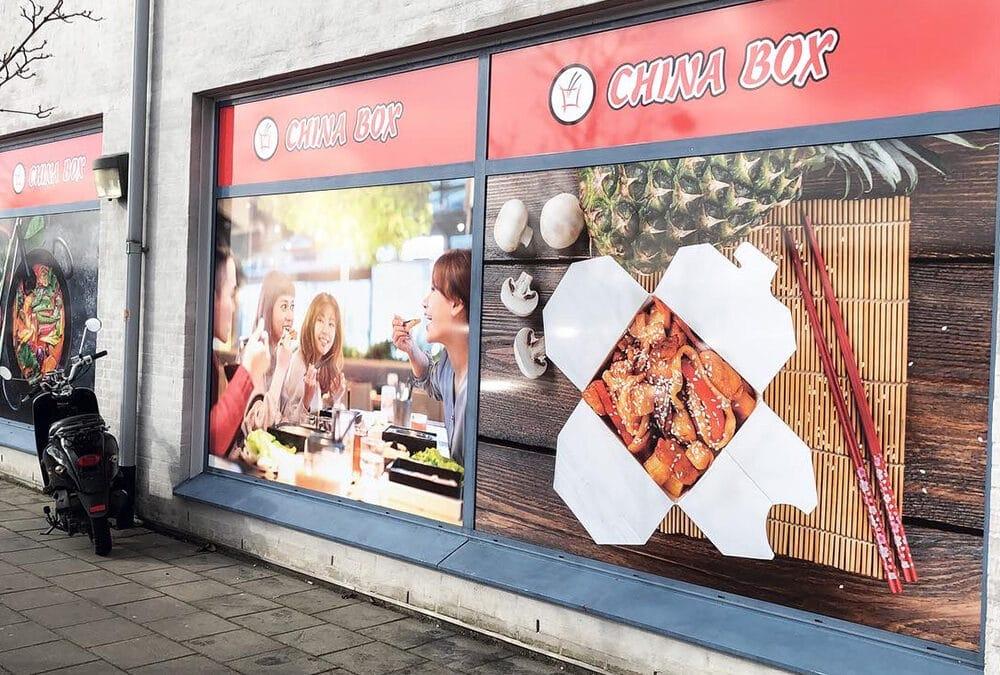 China Box Window decor
